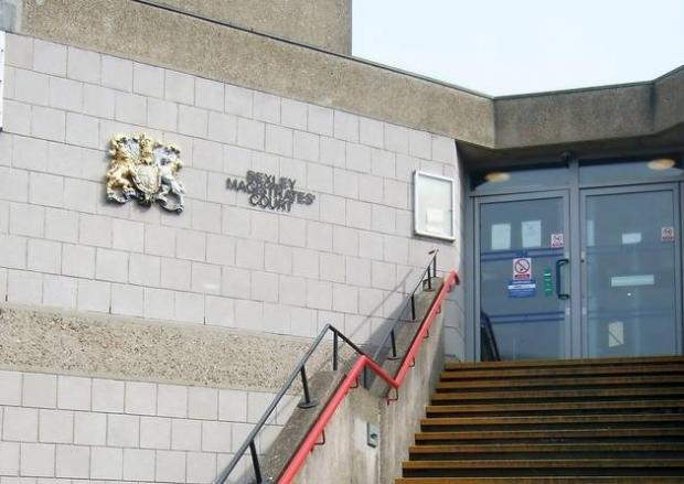 The men pleaded 'not guilty' at Bexley Magistrates Court.