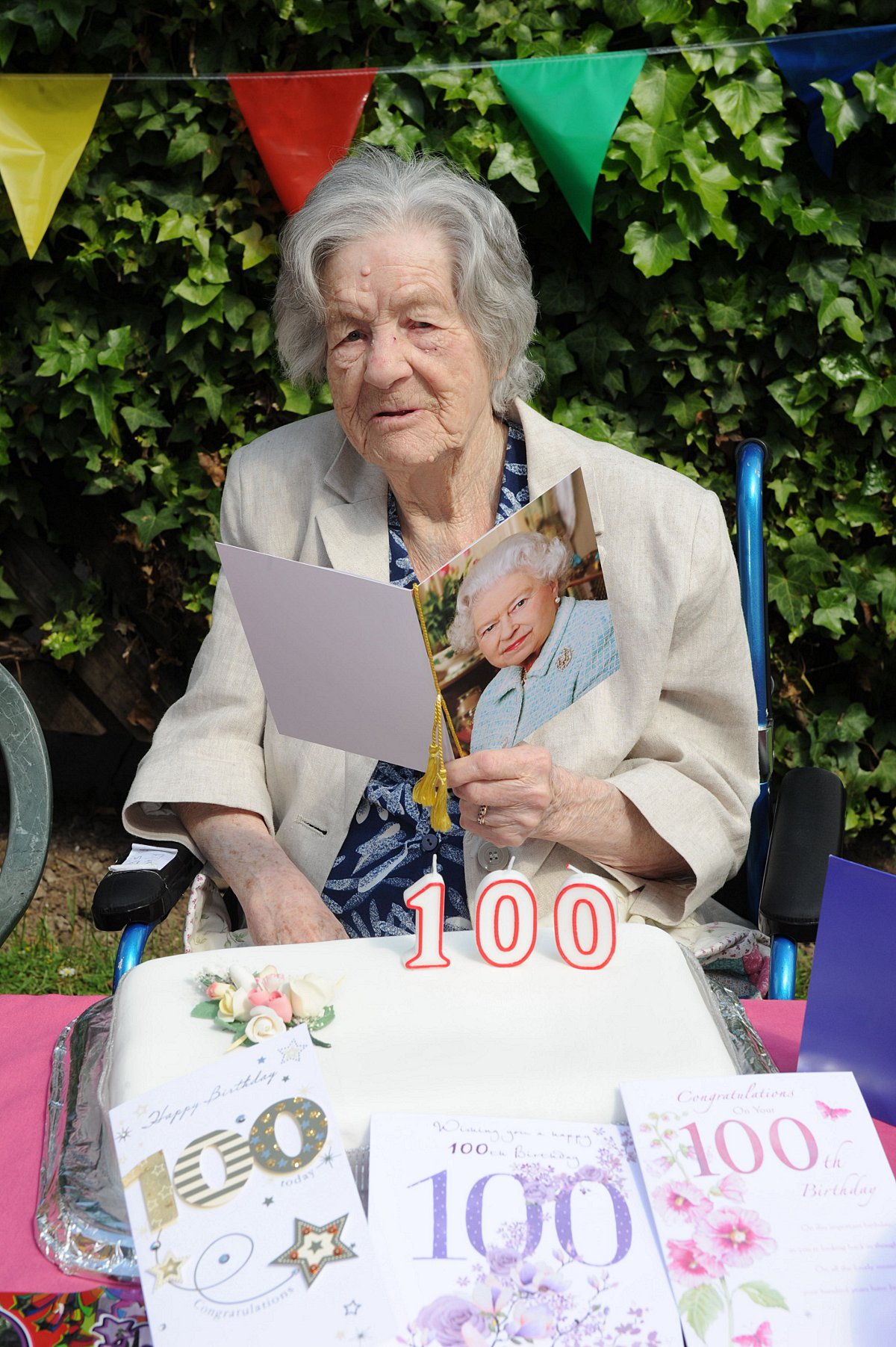 Great-great-great grandmother celebrates 100 years