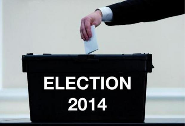 2014 Elections - polling booths open for local council and European votes