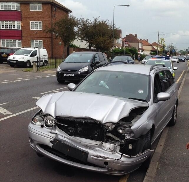 Pictured Bexley Car Smash Sees One Person In Hospital