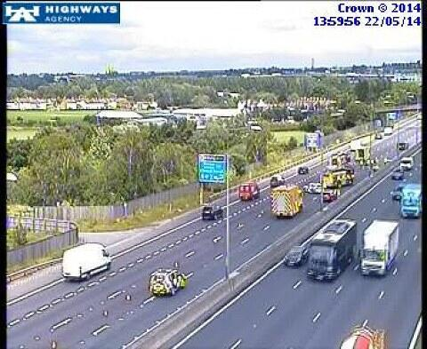 Drivers warned of possible delays after Swanley M25 crash