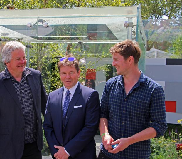 News Shopper: Father and son Greenwich duo bag Gold at Chelsea Flower Show
