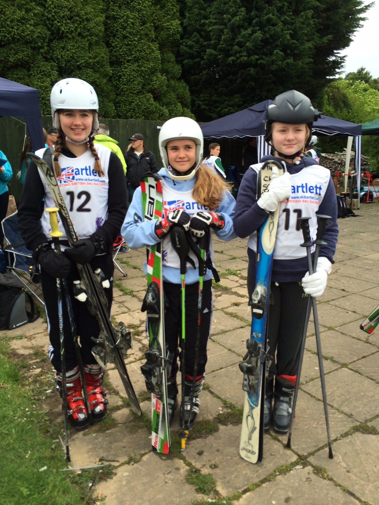News Shopper: Charlotte Wistow (l), Ellie Trew and Libby Hudson