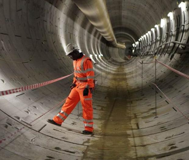 Crossrail sccops prize for civil engineering excellence
