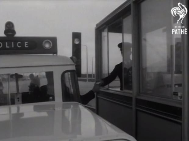 News Shopper: A car using the Dartford Tunnel in a British Pathe video dated 1963