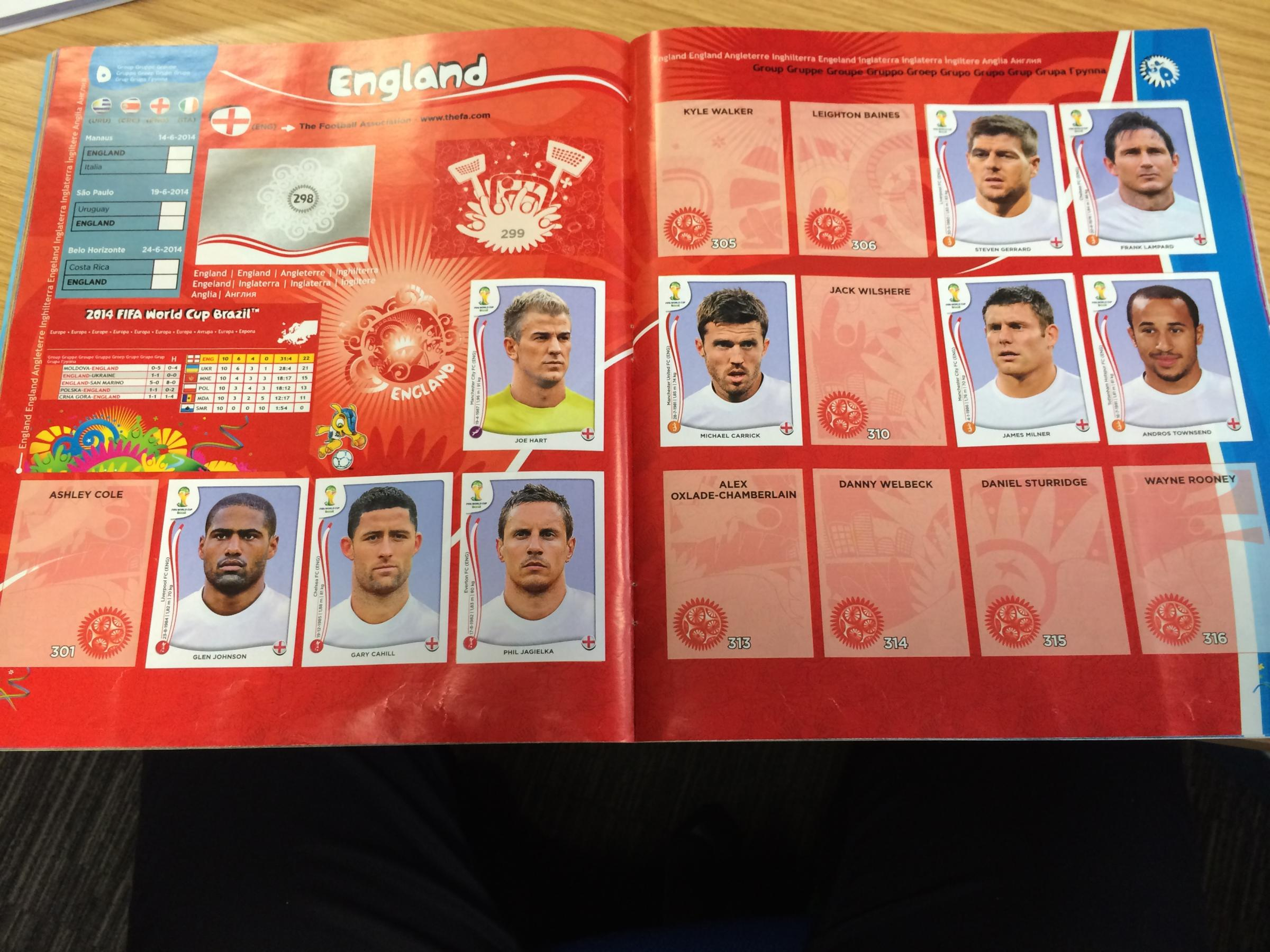 Filling every page in your World Cup sticker album could cost hundreds of pounds