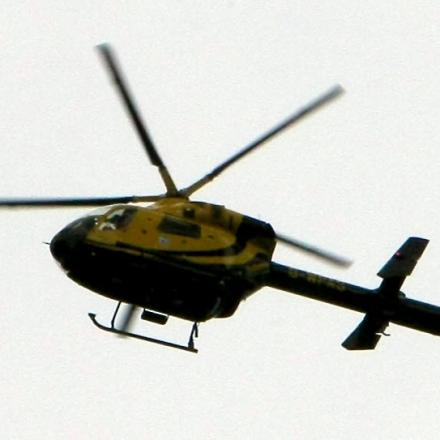 Police helicopter searches for suspects in Bexley