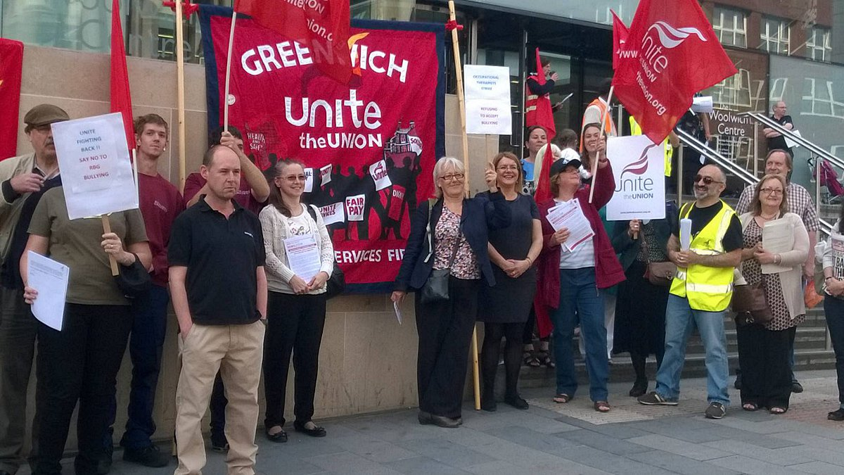 Union plans further Greenwich Council 'anti-bullying' strike