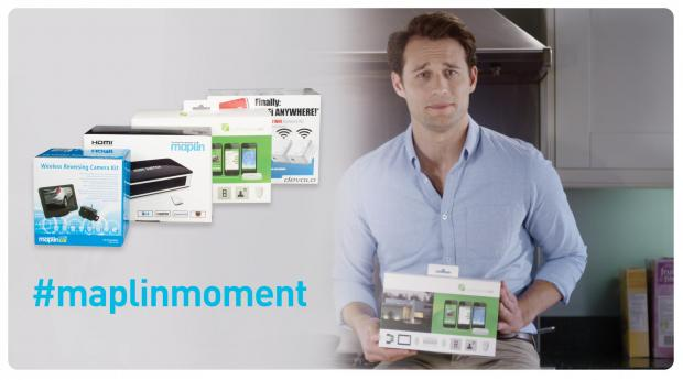 WIN £350 of Maplin tech products as seen in TV ad