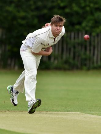 Bickley Park bowler Daniel Magin took 5-28 but it wasn't enough to prevent defeat