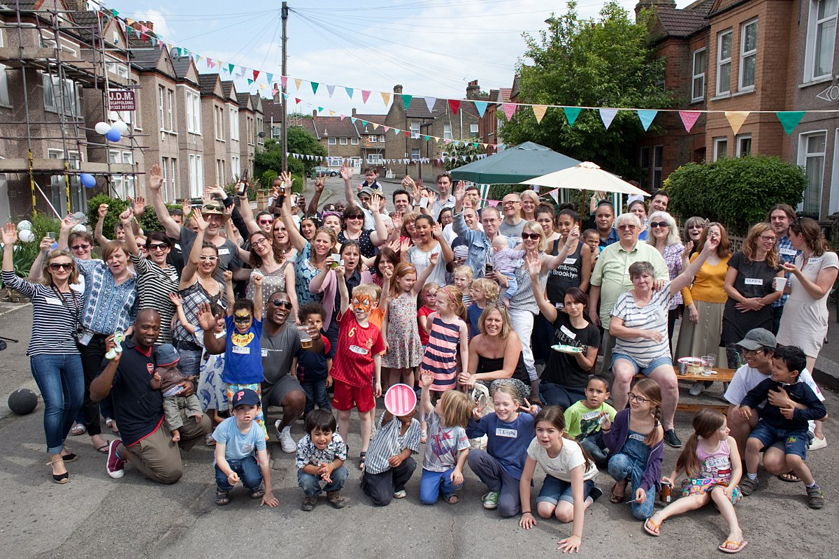 PICTURED: Lewisham neighbours celebrate community with Big Lunch street parties