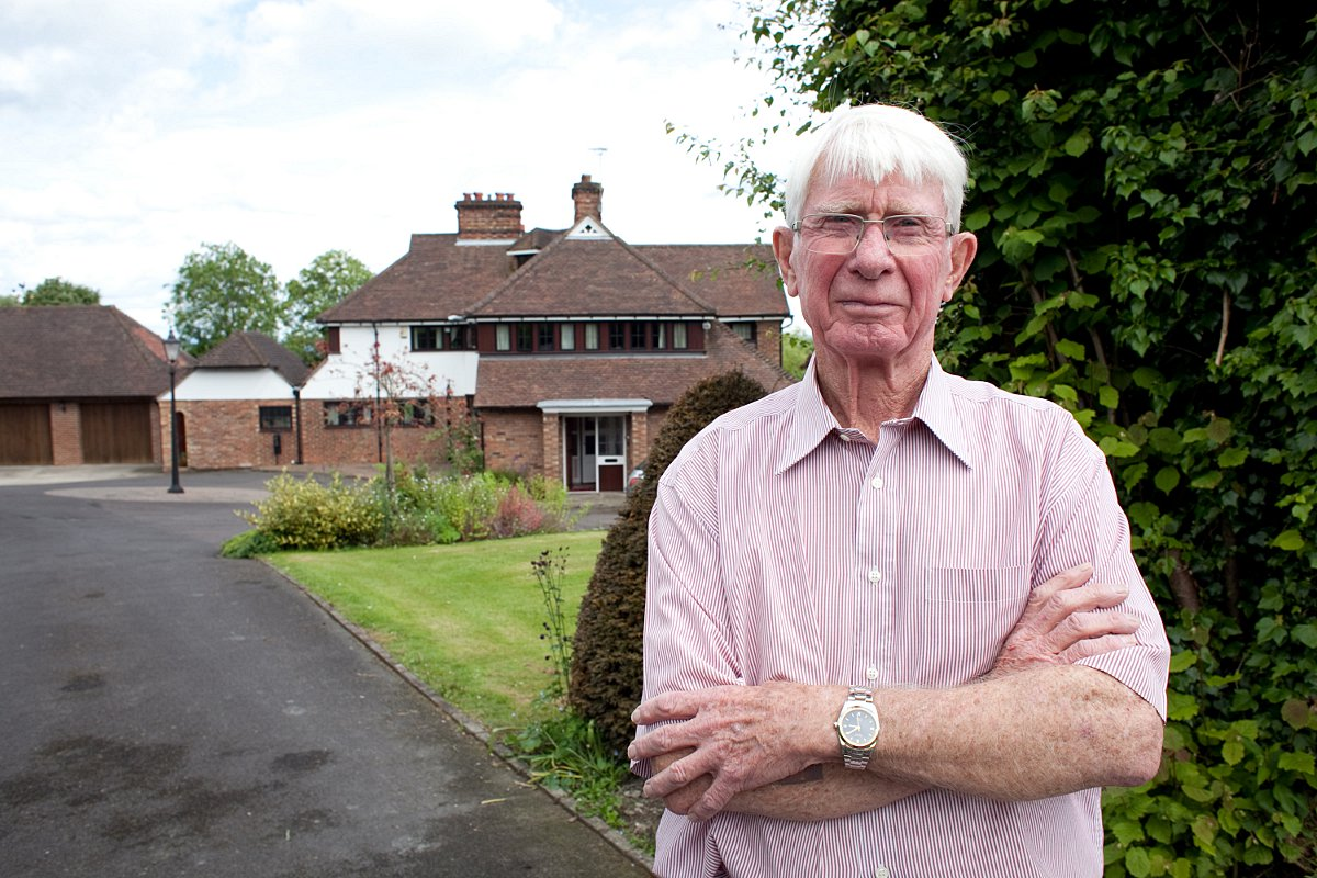 Pensioner who took on trio of thugs raiding his house denies he was brave