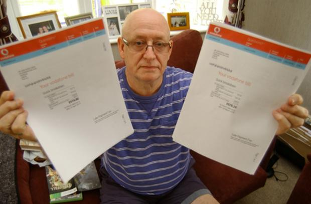 Sidcup man makes complaint to BT after being lumbered with £1200 mobile bill