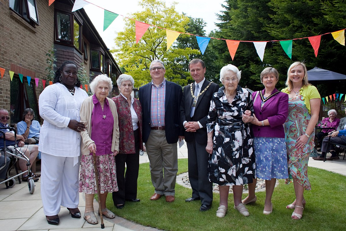Bickley care home's garden transformed to 'fantastic, beautiful space'