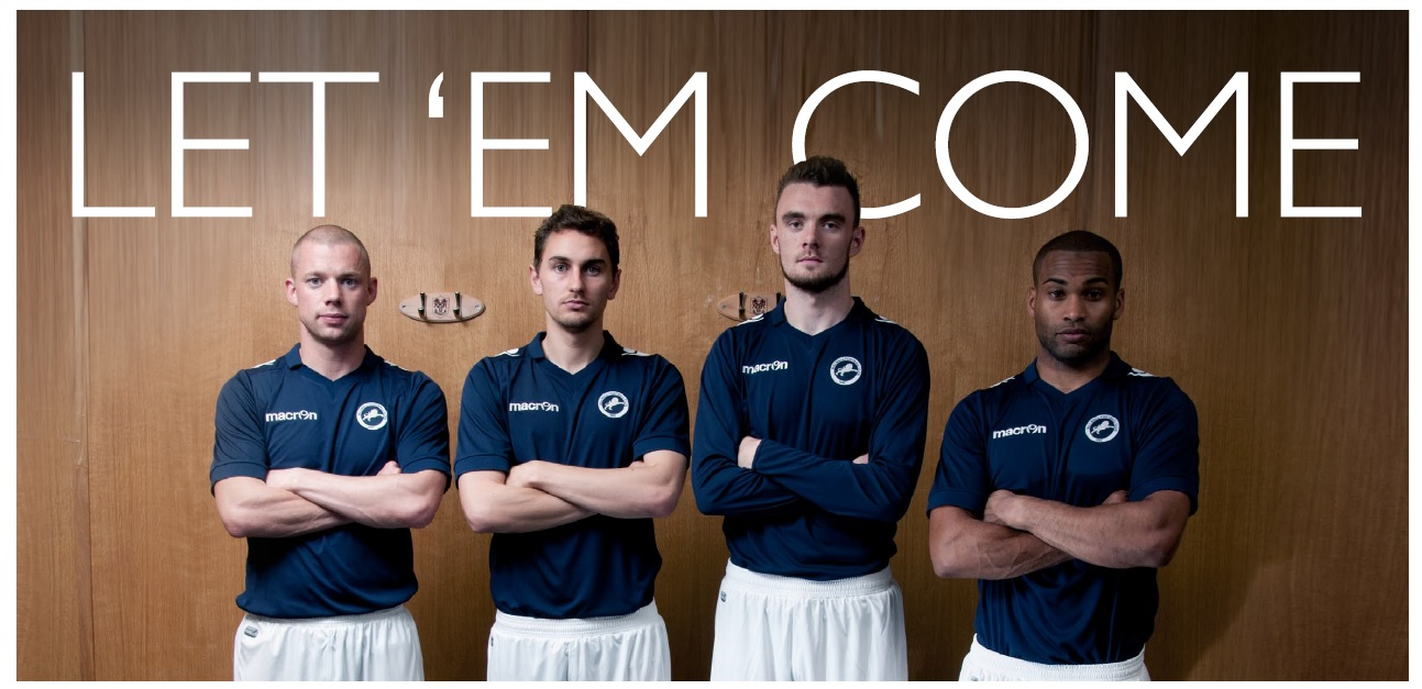 Millwall's new 2014/15 home shirt - what do you think?