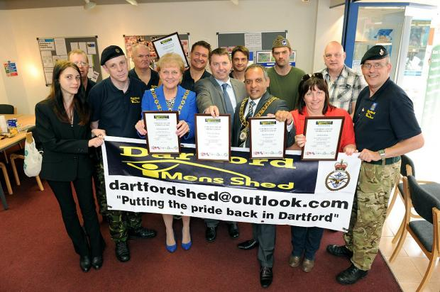 Dartford Men's Shed held its open day at the Orchards Centre.