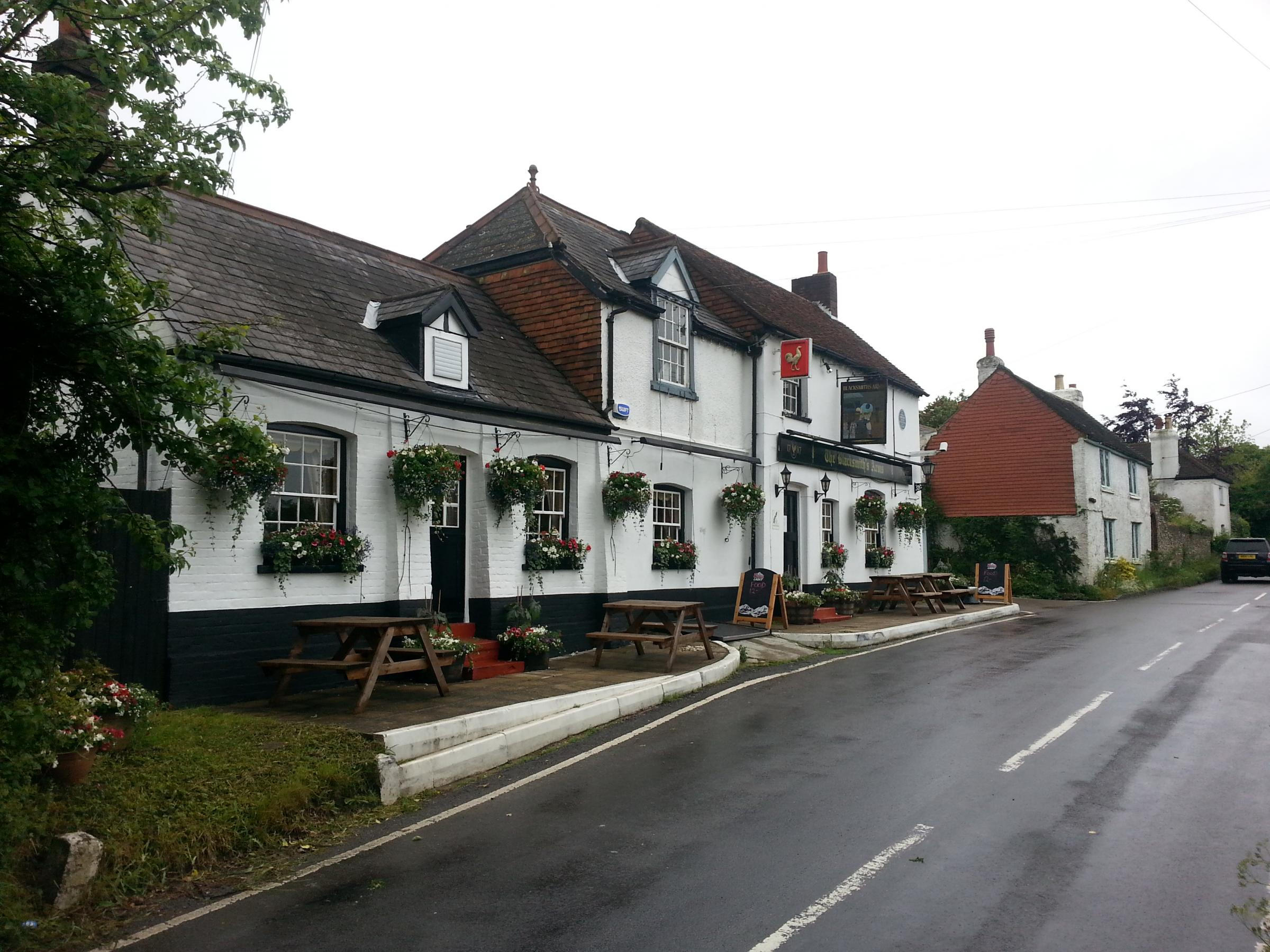 PubSpy vows to see out zombie apocalypse with UKIP leader at The Blacksmith's Arm, Cudham