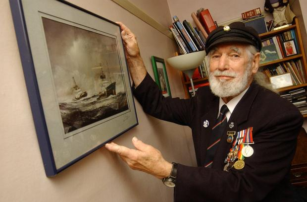 News Shopper: Jim Radford was the youngest known person to serve on D-Day