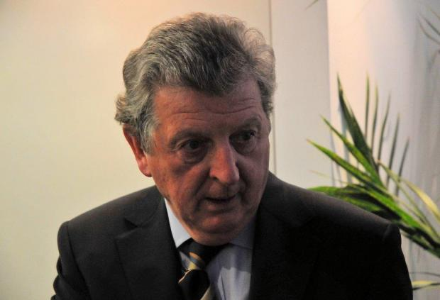 News Shopper: Roy Hodgson has previous with Crystal Palace and Gravesend & Northfleet (now known as Ebbsfleet United). Picture by David Purday.