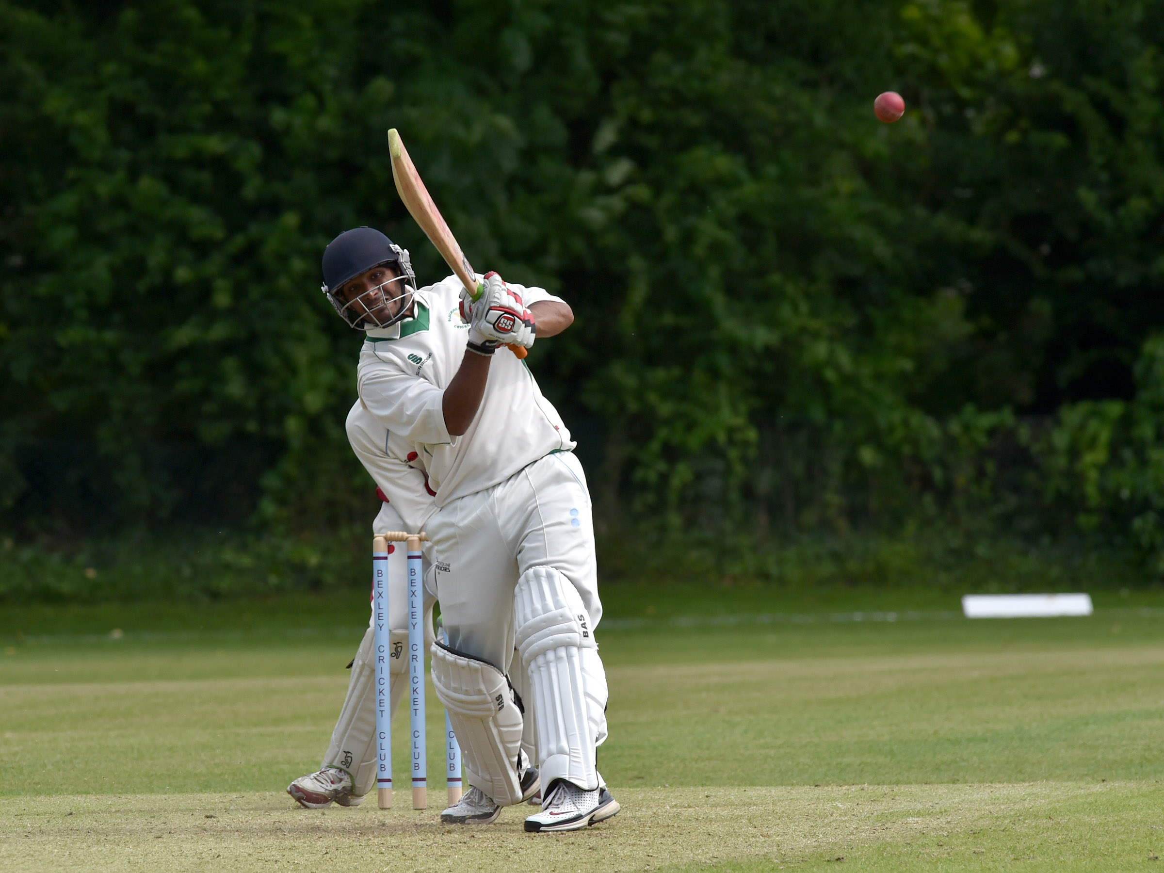 Batsman Tanweer Sikandar was in impressive form. Picture by Keith Gillard.