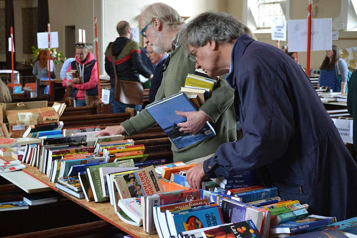 Most successful Amnesty International book sale's 40th event in Blackheath