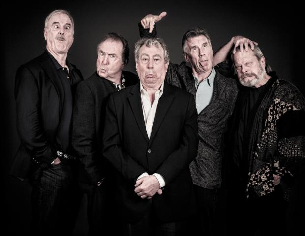 Reviews hail Pythons 'legends' at first Greenwich show