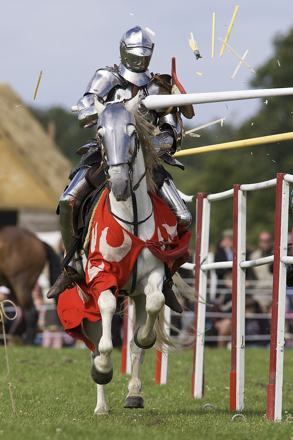 Knights to compete in medieval joust at Eltham Palace