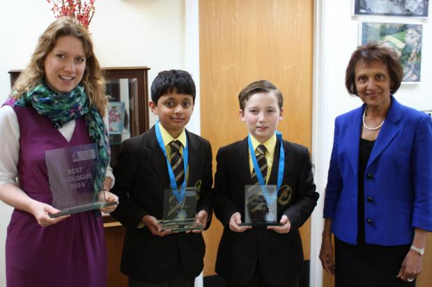 News Shopper: Darrick Wood pupils win prestigious Shakespeare competition