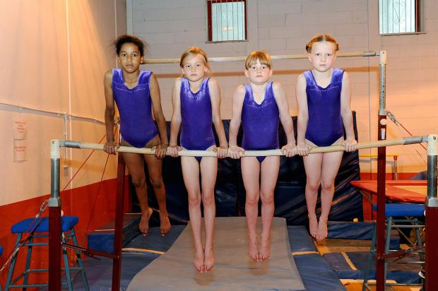 Left to right: Kayla Ogun 9, Denika Skcirova, Hannah Welsh and Molly Muirhead, all 8.