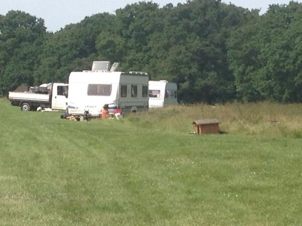 UPDATE: Abbey Wood gypsies move on to Falconwood, Welling