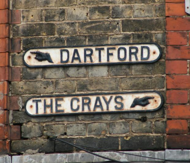 Dartford is run down while the Crays are full of pride, according to you. Pic by Andrew Barclay via Flickr
