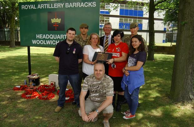 News Shopper: Lee Rigby's mum makes emotional return to Woolwich