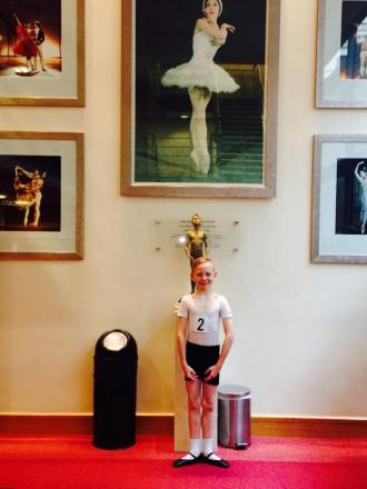 Bean 10-year-old scores place at Royal Ballet School