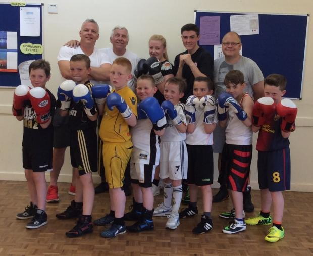Boxing club fight for new home