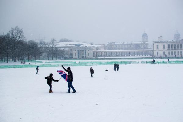 News Shopper: Greenwich Park snow