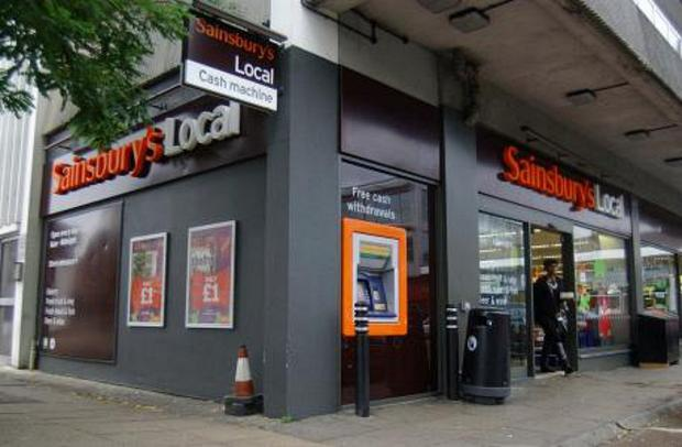 Dave Savage was found dead on the kerb near this Sainsbury's in Greenwich High Road