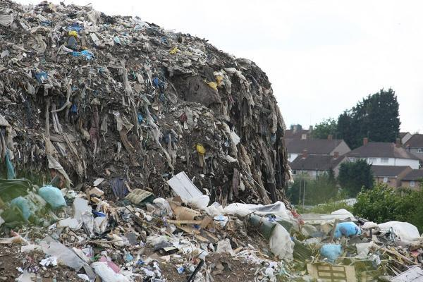 The Waste4Fuel site in Cornwall Drive, St Paul's Cray