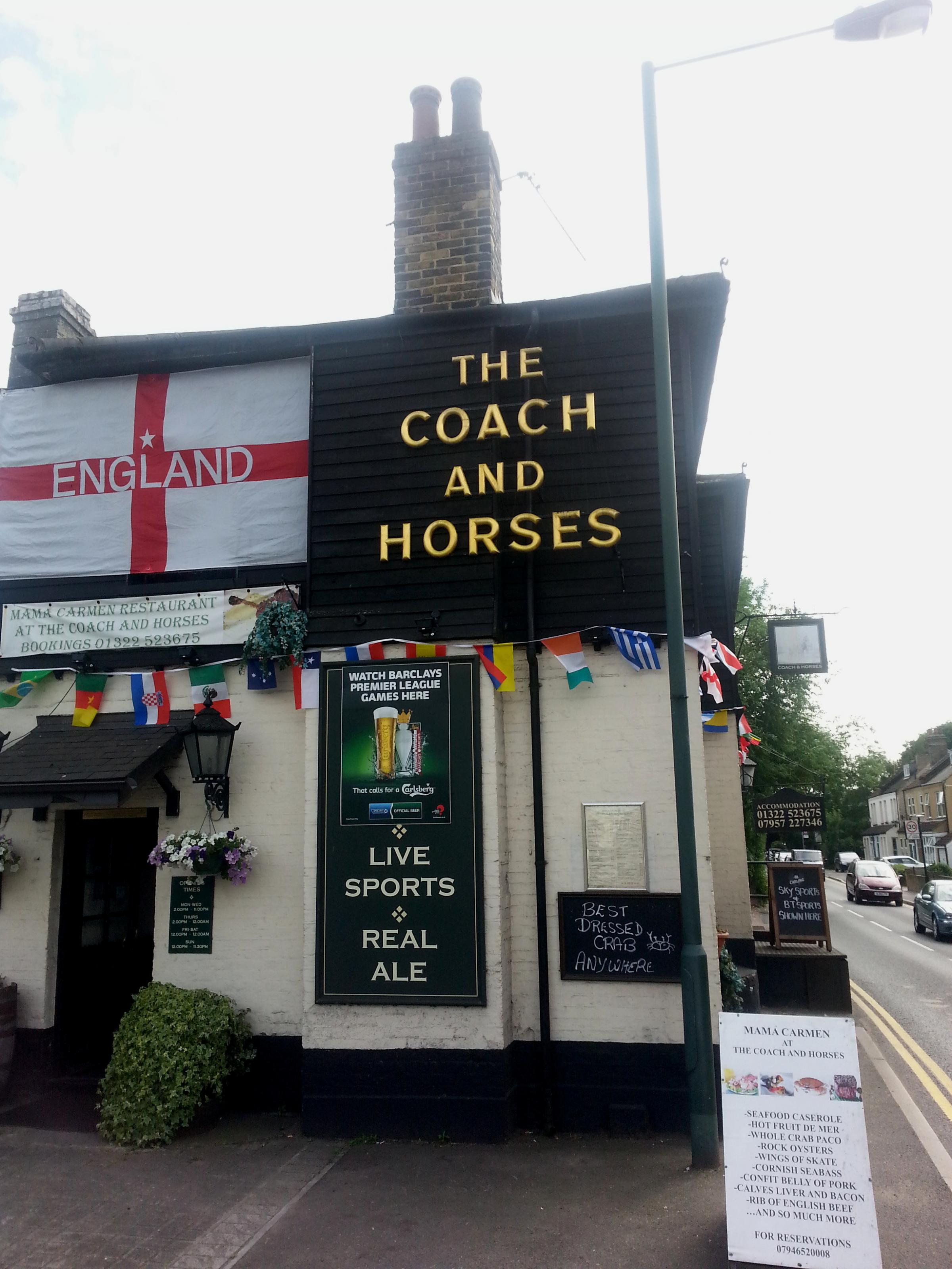 PubSpy reviews the Coach and Horses, Bexley Village