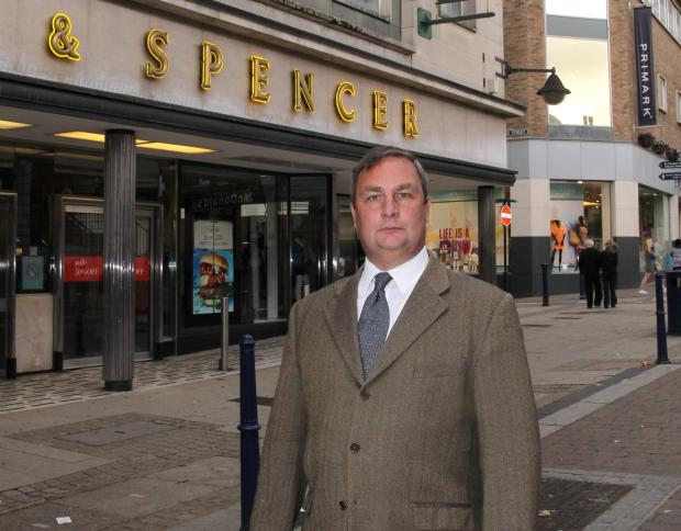 "News Shopper: Gravesham Council Leader has ""no sympathy"" for M&S over planned closure"