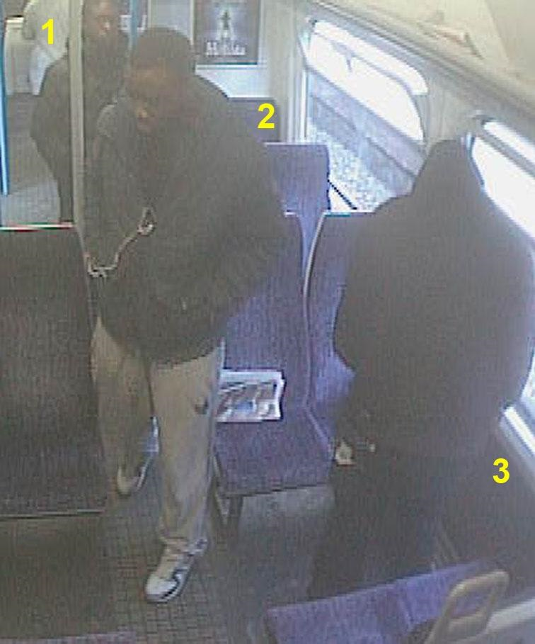 PICTURES: Police release images in connection with Lower Sydenham train attack