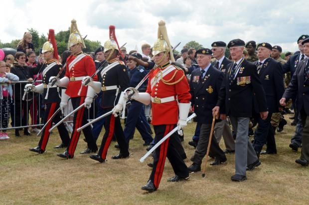 News Shopper: PICTURED: 30,000 people visit Woolwich for Armed Forces celebration