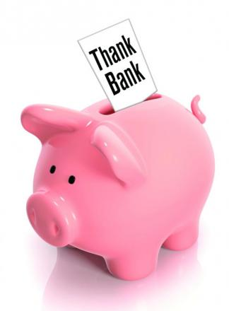 Thank Bank: Saying thank you just got easier