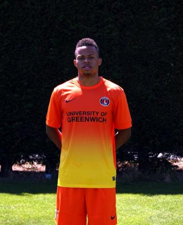 Charlton's new third choice kit is shown off by Jordan Cousins. Picture by Edmund Boyden.