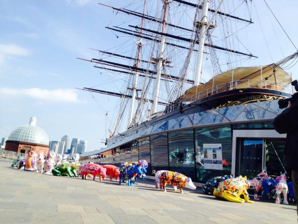 News Shopper: Animal sculptures at the Cutty Sark for Corelli's Creature Carnival
