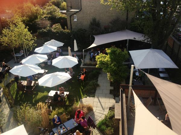 London's best pub garden? PubSpy reviews the Guildford Arms, Greenwich