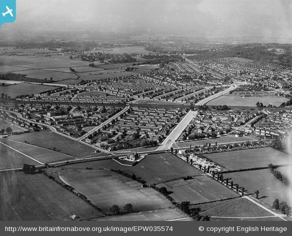 News Shopper: Housing off Westhorne Avenue and Eltham Hill, Eltham, from the south, 1931