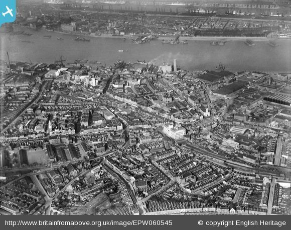 News Shopper: The area between Crescent Road and the River Thames, Woolwich, 1939