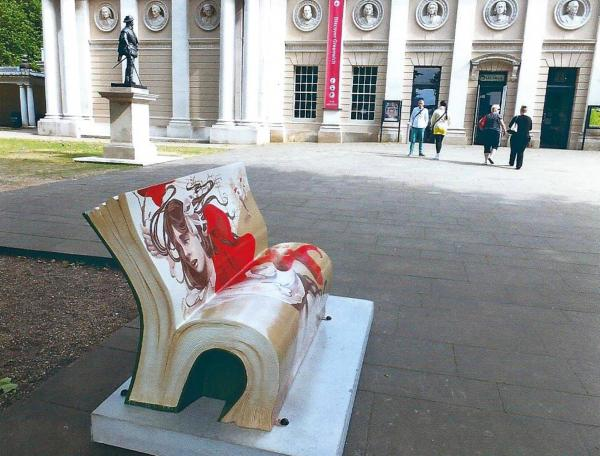 A Novel Idea: Literary-inspired benches pop up in Greenwich