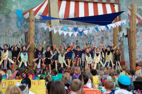 PICTURED: Blackheath primary school's carnival to celebrate different cultures