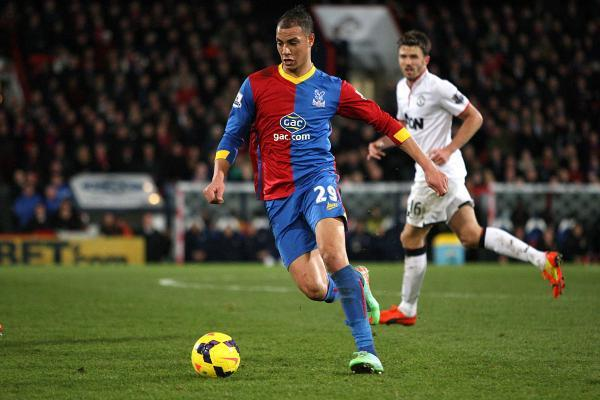 New deal: Marouane Chamakh has signed a two-year deal at Crystal Palace
